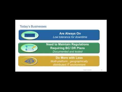 Backup and Data Recovery Utilizing the Public Cloud - cStor Webinar May 13, 2015