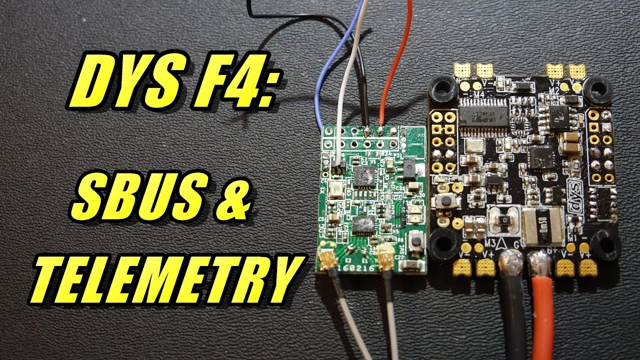 maxresdefault dys f4 connecting sbus receiver & telemetry youtube  at bayanpartner.co