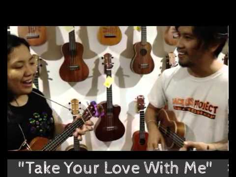 UkeJam | Jed & Anna | Take Your Love With Me