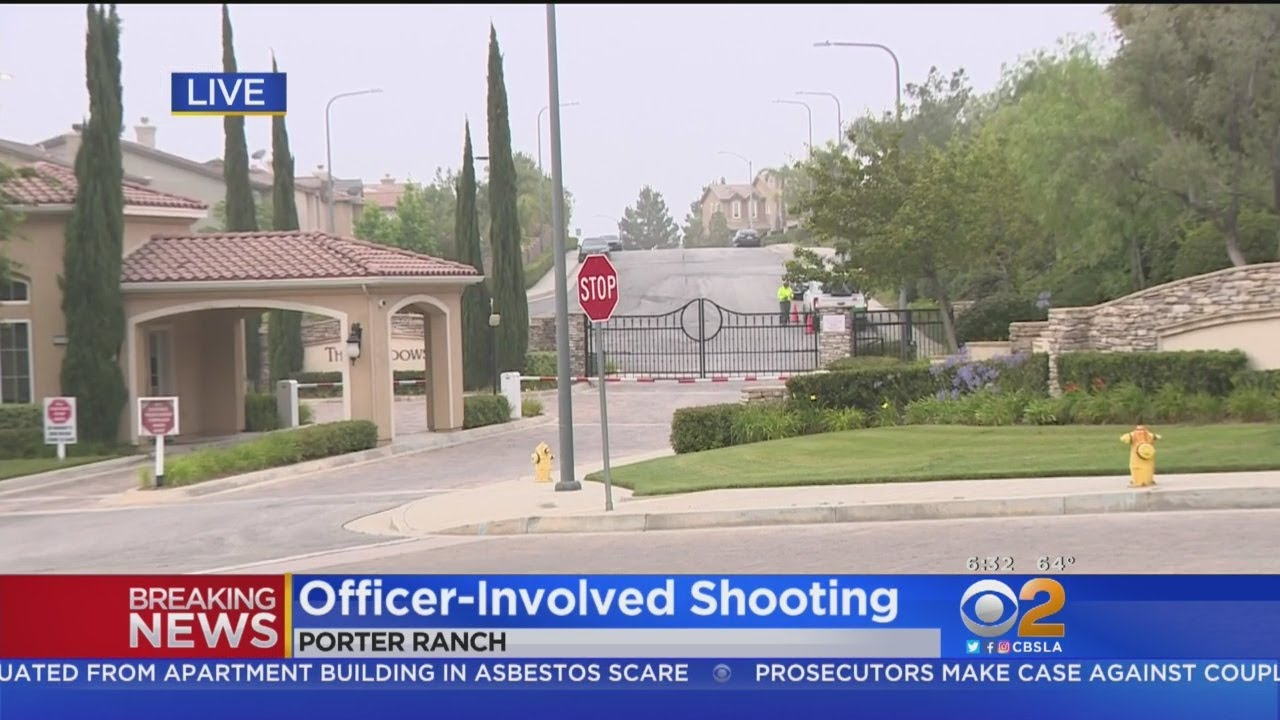 Woman Stabbed, Man Shot By Police In Quiet Porter Ranch