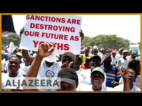 Thousands in Zimbabwe denounce 'evil' Western sanctions