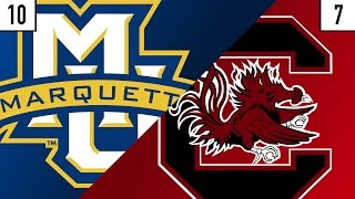10 Marquette vs. 7 South Carolina Team Prediction | Who