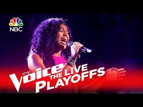 Shalyah Fearing - Listen (The Voice LivePlayoffs 2016)