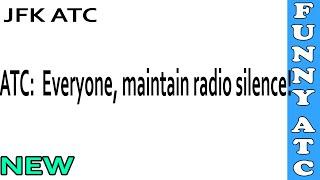 LiveATC: Everyone, maintain radio silence!