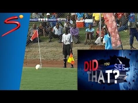 Wonder goal from Zimbabwean Premier Soccer League