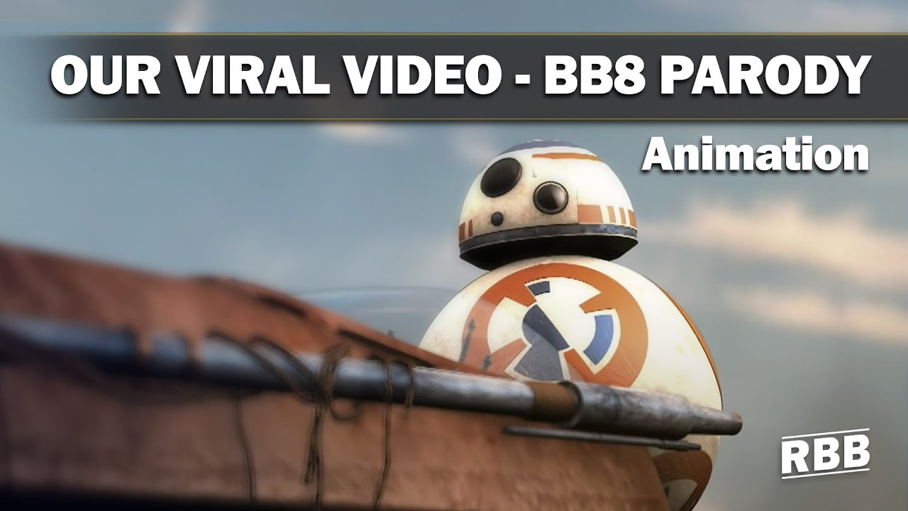 star wars episode vii trailer bb8 parody youtube