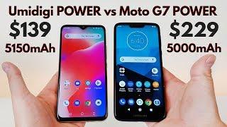 Umidigi POWER vs Moto G7 POWER - Which is the Best Power Phone?