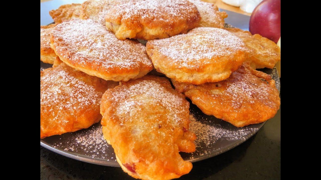 Лучшие оладьи с яблоками / Соседка полька рассказала рецепт своей бабушки