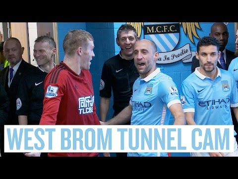 TUNNEL CAM I City 2-1 West Brom