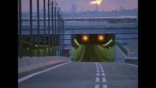 Платный туннель  под рекой в Голландии! Кредитные карты не подходят!(№60)
