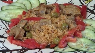 Yellow Rice With Pork Simplified Recipe