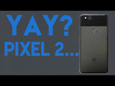 The Google Pixel 2 looks embarrassing