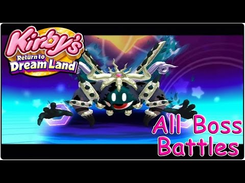 Kirby's Return to Dreamland All Bosses