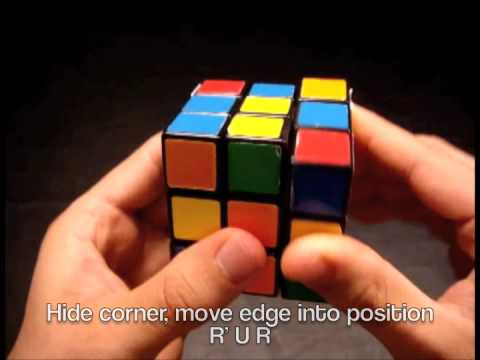 Rubiks Cube - How to Solve a Rubik's Cube Faster - Introduction to F2L