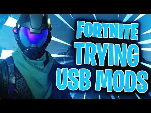 Fortnite: Battle Royale - Trying a USB Mod Menu (Xbox One)::