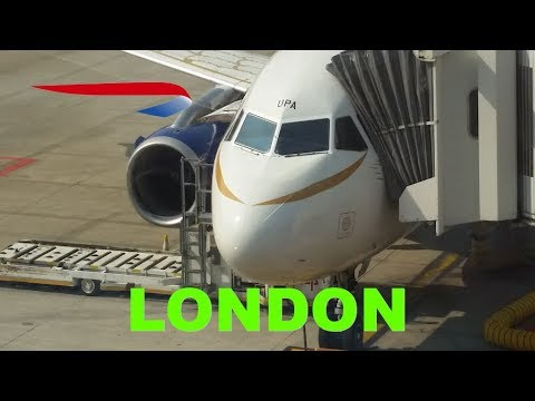 "Business class (Club Europe) flight Review from Brussels to London LHR on BA A319 ""Dove"""