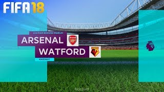 FIFA 18 - Arsenal vs. Watford @ Emirates Stadium