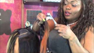 Download Layered And Feathered Invsbl Part Quick Weave Bob Mp3 and Videos