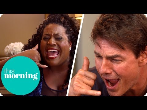 "Alison Asks Tom Cruise to ""Show Her The Mummy!"" 