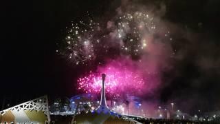 Отборочный тур Мирового фестиваля  фейерверков Сочи 2018. Выступление Пиророс 2 часть