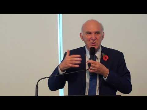 Vince Cable speech to North East Lib Dem conference 4 November 2017