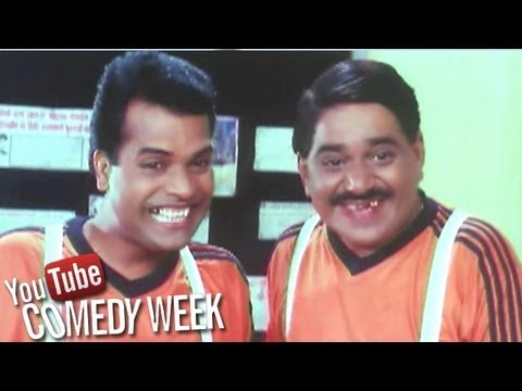 Laxmikant Berde and Bharat Jadhav Comedy Scenes - Khatarnak, Jukebox - 1, Comedy Week