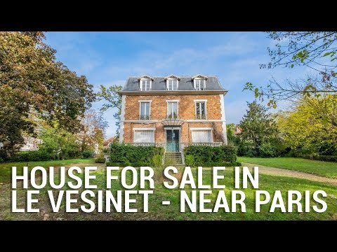 Pretty Napoleon III style house for sale in Le Vesinet, near Paris & Versailles - Ref.: 103928CDI78