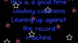 Carrie Underwood - Cowboy Casanova - Lyrics
