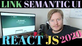 How To Link Semantic Ui CDN To React In Visual Studio Code 2020
