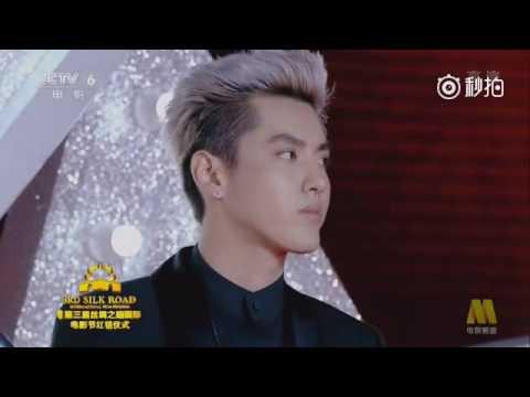 Kris Wu Silk Road Film Festival red carpet