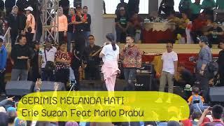 Gambar cover GERIMIS MELANDA HATI - ERIE SUZAN Feat MARIO PRABU