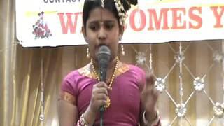 (8) Song on Sri Andal at Celebrations Sri Ramanujar Millenium Sri Ramanuja Sabha