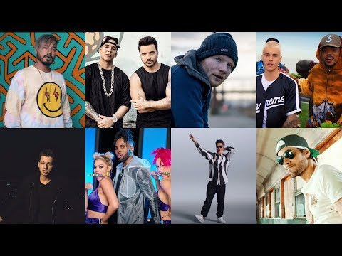 Top 20 Most Viewed Songs by Male Artists Published in 2017