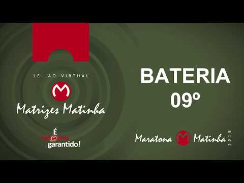 BATERIA 09º  Matrizes Matinha 2019