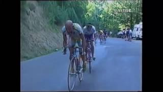"""Tour de France 98, De Zan: """"Eccolo là si è tolto la bandana Pantani"""""""