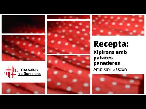 Castellers de Barcelona Confinats | Recepta: Xipirons amb patates panaderes, amb Xavi Gascón