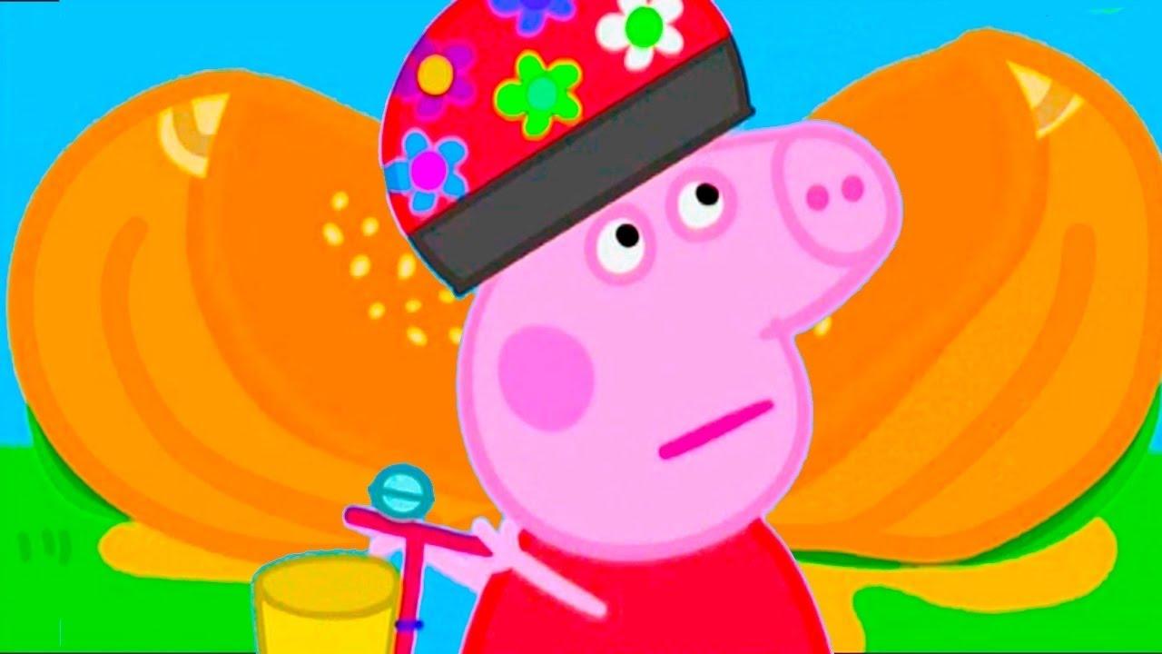 Peppa Pig. Свинка Пеппа в тыкве. Утренний Сборник 25PigCARTOONS FOR KIDS