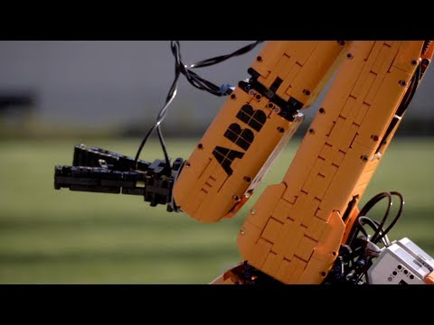 ABB Robotics - Engineering with LEGO can transform the future