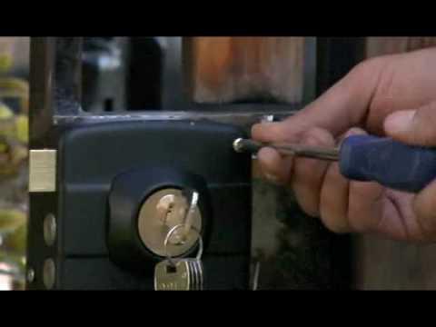 Tipos de cerraduras para rejas