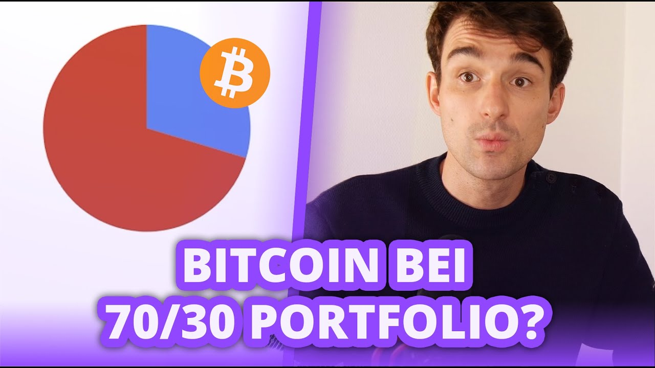 Bitcoin bei 70/30 ETF Portfolio beimischen? Portfolio im Check!   Finanzfluss Twitch Highlights