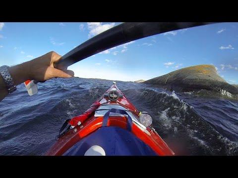 Sea Kayaking Sweden - Stockholm Söderarm Archipelago - The GoPro Movie