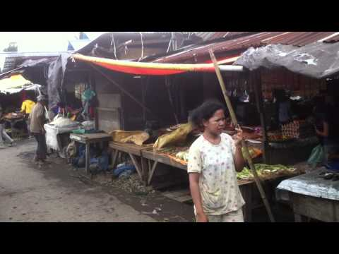 Local Market in North Sulawesi, Indonesia