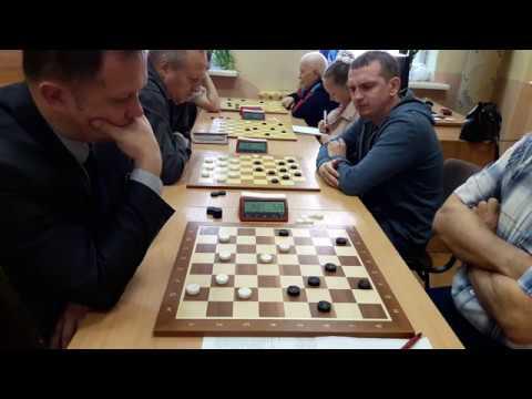 Как играют в шашки гроссмейстеры 3. Шашки +