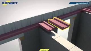 Układanie stropu Teriva PLUS z wykorzystaniem kształtki wieńcowej TERMOBET®