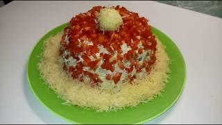 """""""Шапка Деда Мороза"""" - самый Новогодний салат!"""