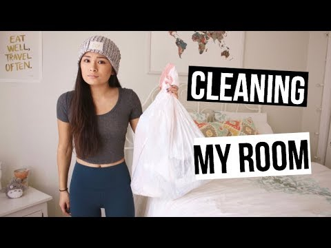 Cleaning my Room!! Organization Ideas +Tips!