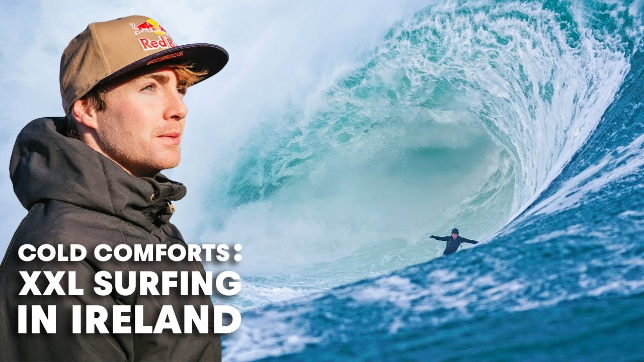 Ever Wonder What It's Like To Surf Ireland's Biggest Waves In The Dead Of Winter?