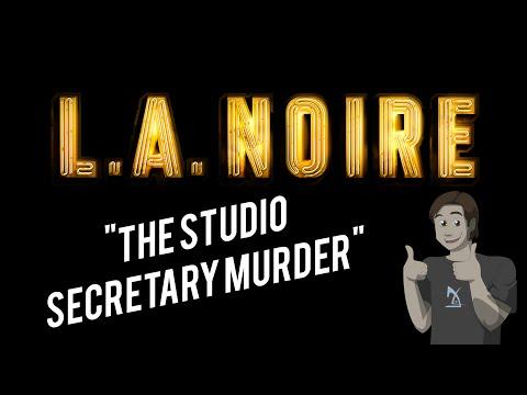 Let's Play LA Noire Part 12: The Studio Secretary Murder (Homicide Case 5)