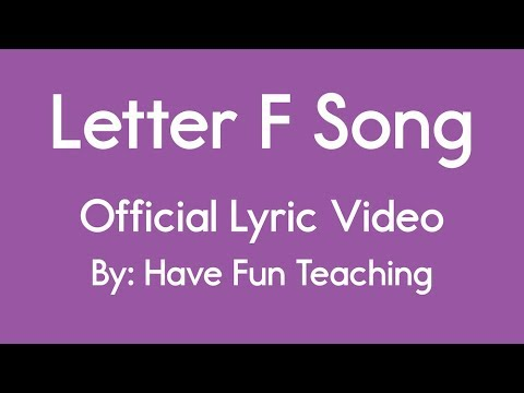 letter v song letter f song official lyric by teaching 23288