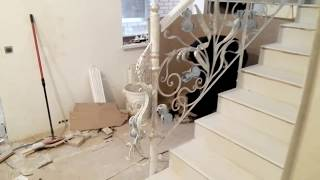 видео Художественая ковка в Москве и области. Изготовление на заказ в студии ковки «Мастерская Данила»